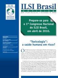 julho - setembro 2009 / July - International Life Sciences Institute