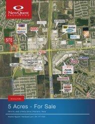 5 Acres - For Sale - NewQuest Properties