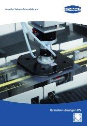 Produktinformation Photovoltaik (4.792 KB) - Schmalz