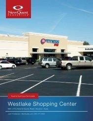Westlake Shopping Center - NewQuest Properties