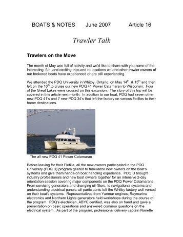 Trawler Magazines