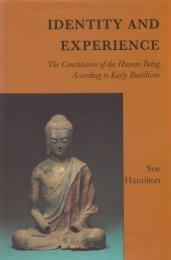 Identity and Experience_Hamilton_1996