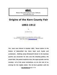 Origins of the Kern County Fair 1892-1912 - Gilbertgia.com