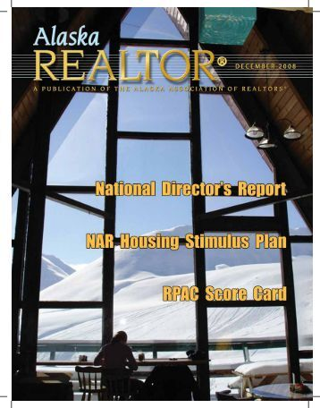2008 December Newsletter - Alaska Association of Realtors