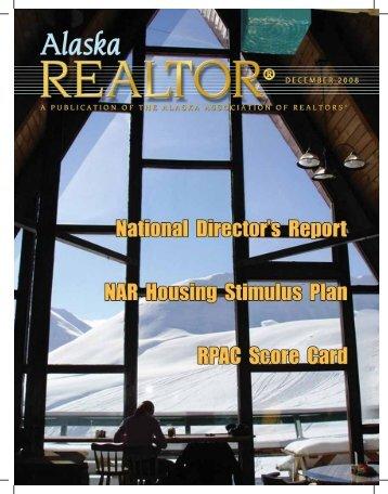 2008 December Newsletter - Alaska Association of Realtors