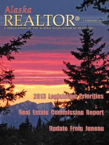 2013 February Newsletter - Alaska Association of Realtors