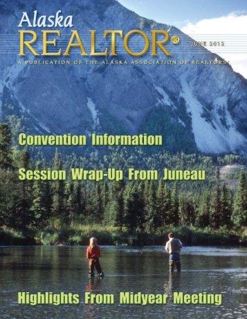 2012 June Newsletter - Alaska Association of Realtors