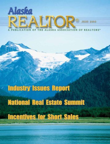 2009 June Newsletter - Alaska Association of Realtors