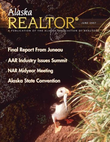 2007 June Newsletter - Alaska Association of Realtors