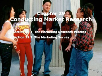 Conducting Market Research Conducting Market Research - iMAG