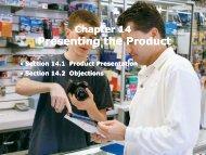 Presenting the Product Presenting the Product - iMAG