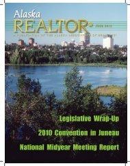 2010 June Newsletter - Alaska Association of Realtors