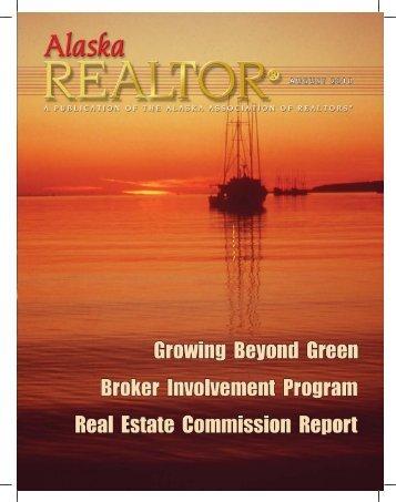 2010 August Newsletter - Alaska Association of Realtors
