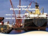 Physical Distribution Physical Distribution - iMAG