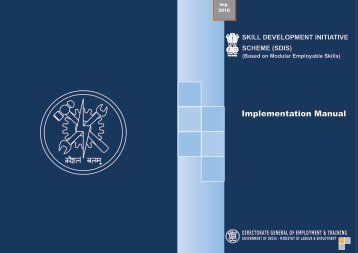 Implementation Manual - Labour Department
