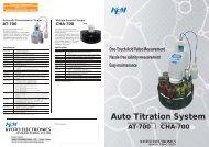 Auto Titration System - KEM
