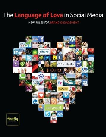 The Language of Love in Social Media - ARMI - Marketing