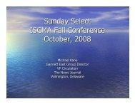 Sunday Select - I-SCMA