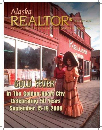 2009 August Newsletter - Alaska Association of Realtors