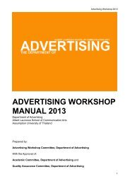 Advertising Workshop Manual 2013.pdf - Department of Advertising ...