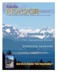 2011 August Newsletter - Alaska Association of Realtors