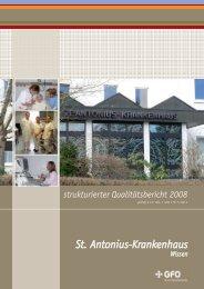 Qualitätsbericht 2008 (PDF) - Weisse Liste