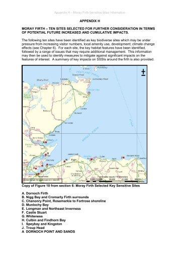 Appendix H - Moray Firth Partnership