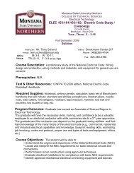 ELEC 103-101/103-102: Electric Code Study / Codeology ...