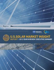 U.S. Solar Market Insight – 2012 Year in Review (SEIA ... - Alta Energy