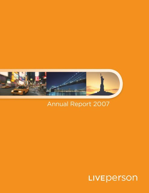 Annual Report 2007 - LivePerson