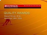 Quality Awards (19 Nov 2004) - Total Quality Management