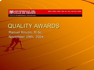 Quality Awards (19 Nov 2004) - Total Quality Management