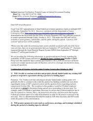 Memo from Maureen A. Henneberg, Director, Office of Audit ...