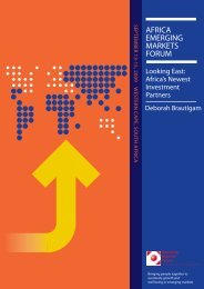 2009-EMF-Africa-Brautigam_Lookin... - Emerging Markets Forum