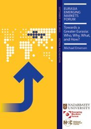 Towards a Greater Eurasia: Who, Why, What, and How? - Emerging ...