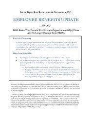 DOL Rules That Certain Tax-Exempt Organization 403(b) Plans Are ...