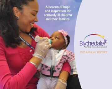 2012 Annual Report - Blythedale Children's Hospital
