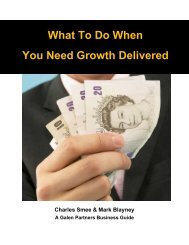 What To Do When You Need Growth Delivered - TransactionFocus