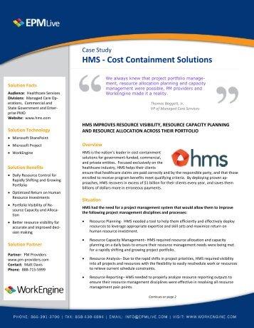 HMS PM Providers Case Study.pdf - EPM Live