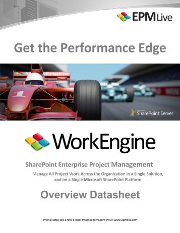 Get the Performance Edge - EPM Live