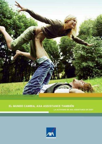 El Informe Anual 2007 - AXA Assistance