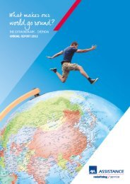 2012 Annual Report - AXA Assistance