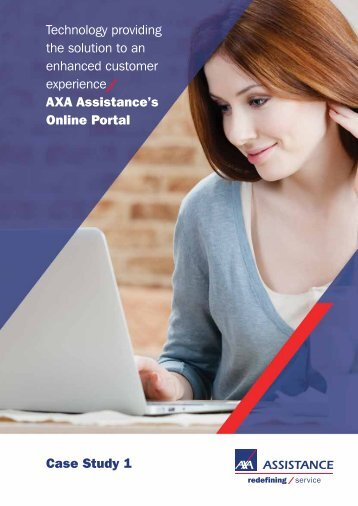 Technology providing the solution to an enhanced ... - AXA Assistance