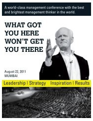 WHAT GOT YOU HERE WON'T GET YOU THERE - Kcapital-us.com
