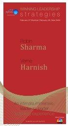Sharma Harnish - Knowledge Capital Services