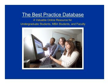 Librarian's Guide to the Best Practice Database.pdf - Best Practices ...