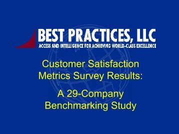 Customers - Best Practices, LLC