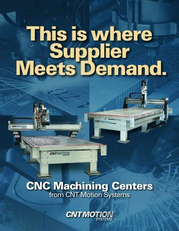 Download Our Catalog - CNT Motion Systems