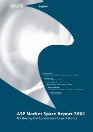 ASP Market-Space Report 2001 - Dr. Thomas Kern