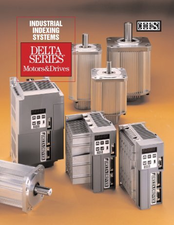 DELTA SERIES Motors & Drives - Industrial Indexing Systems